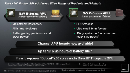 AMD Brazos Presentation