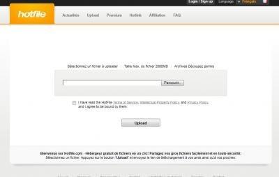 hotfile MPAA DMCA notification LCEN