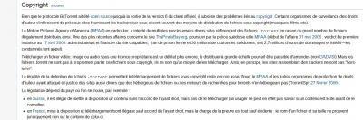 copyright P2P constat wikipedia bittorrent