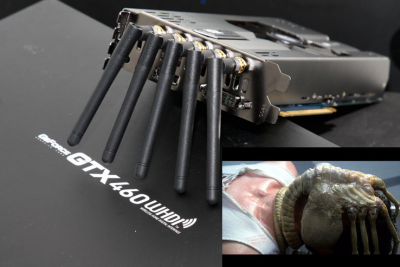 KFA GeForce GTX 460 WDHI