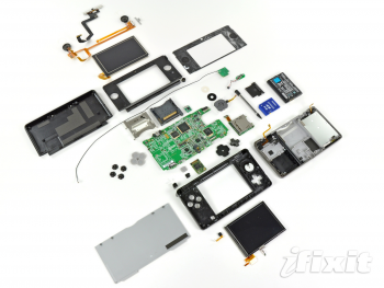 Nintendo 3DS demontage