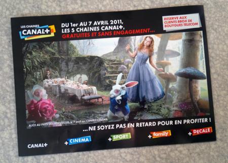 Bouyges Telecom Canal+ gratuit