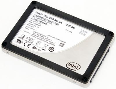 SSD 320 series 300 Go Intel