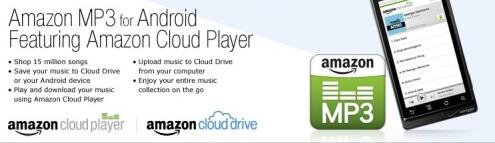 Amazon MP3 Android Cloud Drive Player