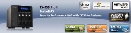 QNAP TS-459 Pro II NAS S-ATA 6 Gbps USB 3.0