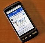 Facebook mobile HTC DEsire