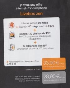 Livebox Zen et Star Orange