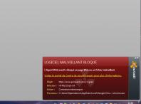 Avast erreur mises a jour site bloqués