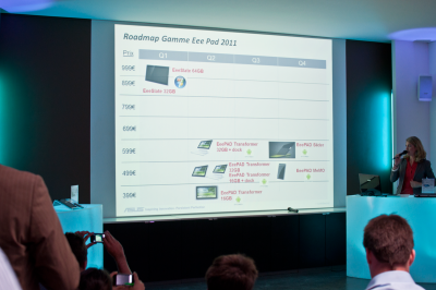 Tablette Asus Roadmap