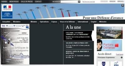 Site ministere defense francaise