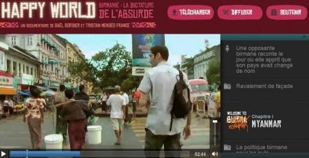 HappyWorld Birmanie video audio texte