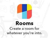 Les Facebook Creative Labs lancent Rooms pour iOS, mais pas en France