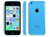 Un iPhone 5c bleu de 8 Go : 319,13 €