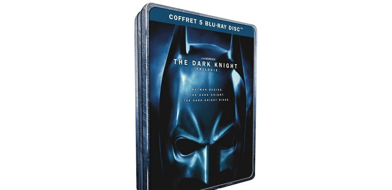 La trilogie Batman de Christopher Nolan en Blu-ray : 11,99 €