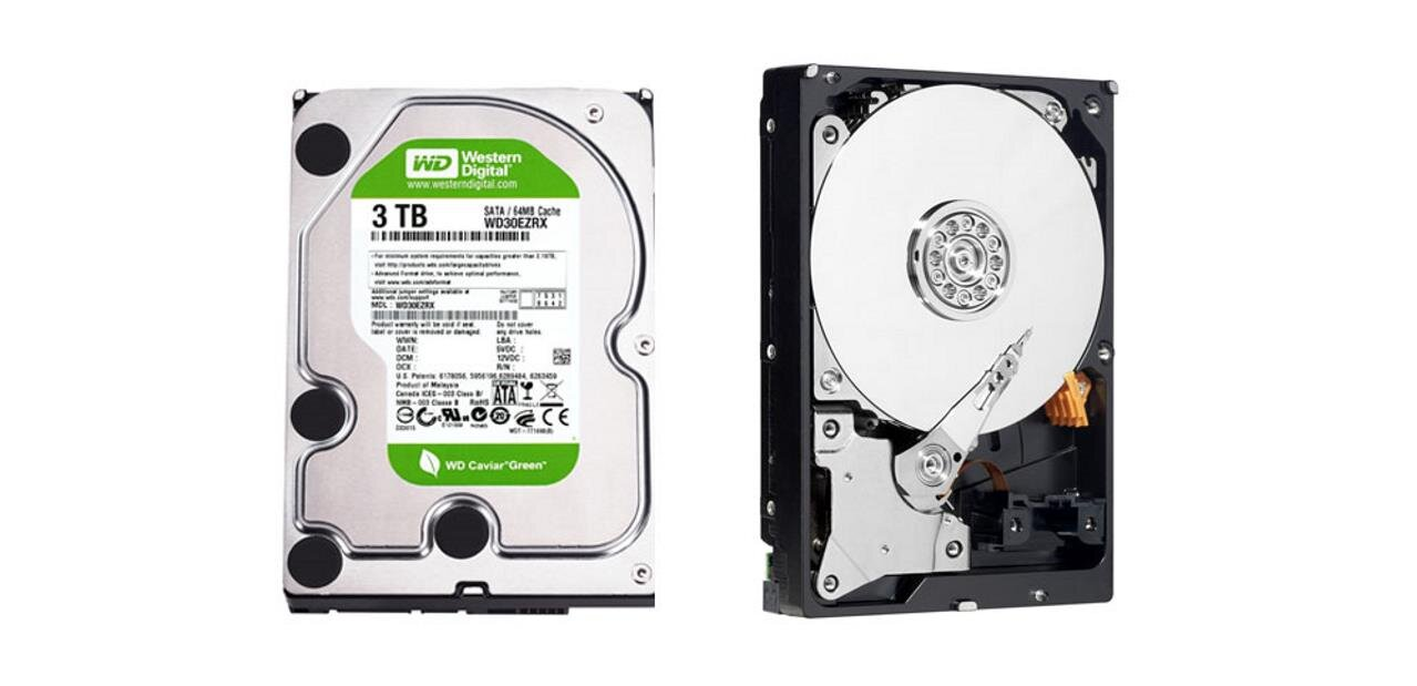 Un HDD Western Digital Green de 2 To : 75,69 €