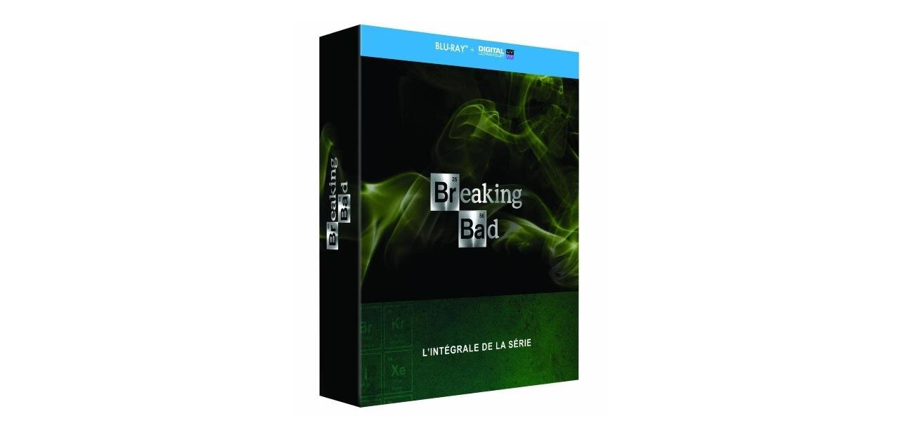 #CyberDays L'intégrale de Breaking Bad en Blu-ray : 39,99 €